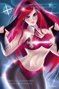 Erza Scarlet from Customwaifus