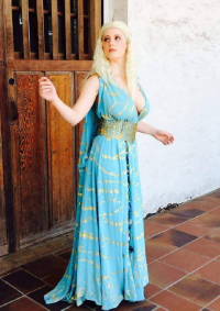 Abby Dark-Star as Daenerys Targaryen