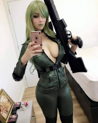 Adami Langley as Sniper Wolf