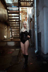 Unknown Female Artist as Black Canary
