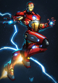 Iron Man from cowboyfromhell0