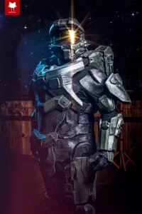 Old Trenchy as Master Chief
