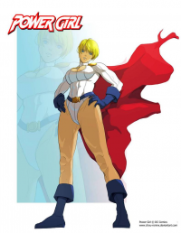 Power Girl from Chou-roninx