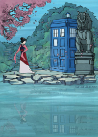 Mulan, TARDIS from Karen Hallion