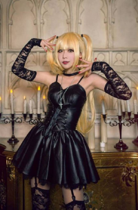 Unknown Female Artist as Misa Amane