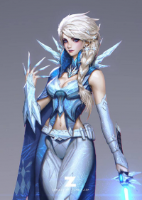 Elsa of Arendelle/Jedi from Paul Kwon