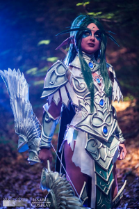 Issabel Cosplay as Tyrande Whisperwind