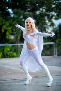 Gabrielle Louise Cosplay as Emma Frost