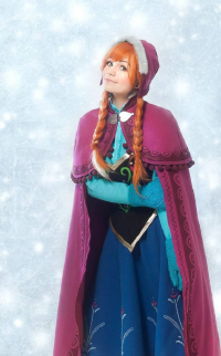 April O'Neil as Anna of Arendelle