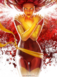 Dark Phoenix from Tu Bui