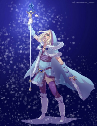 Crystal Maiden from Arrivasama