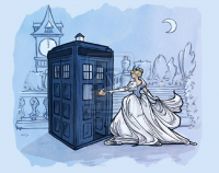 Cinderella, TARDIS from Karen Hallion
