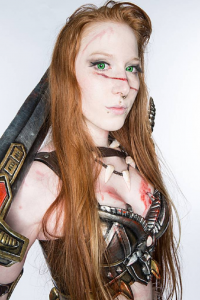 Laura Jansen as Barbarian