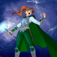 Sailor Jupiter/Thor from Jei Shepard