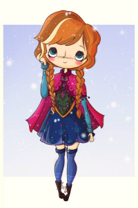 Anna of Arendelle from agusmp