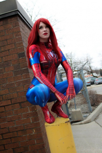 Toxik Fox Cosplay as Spider Girl
