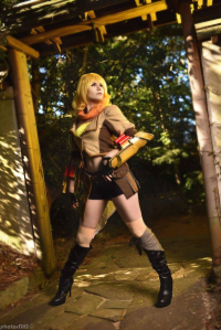 Katinka Cosplay as Yang Xiao Long