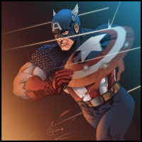 Captain America from Bruno Furlani