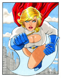 Power Girl from Chris Ring