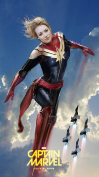 Captain Marvel from Unknown Artist
