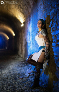 Arkady Cosplay as Isabela