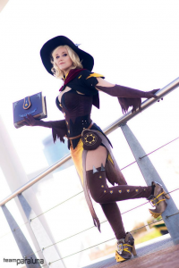 Xpandorae as Mercy/Witch