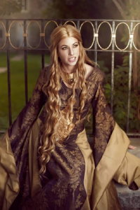 Arcana Imperia Cosplay as Cersei Lannister