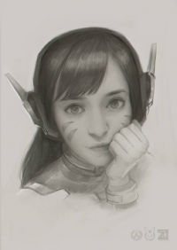 D.Va from Unknown Artist