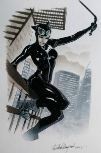 Catwoman from Elena Casagrande