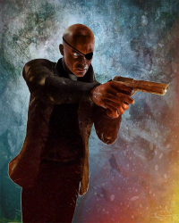 Nick Fury from archangelgabriel