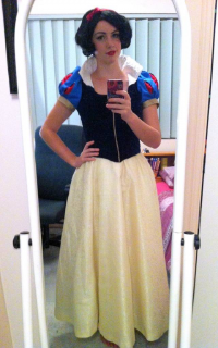 Major Sam Cosplay as Snow White
