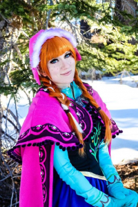 Adel Cosplay as Anna of Arendelle