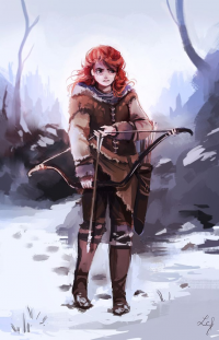 Ygritte from Camille Fourcade