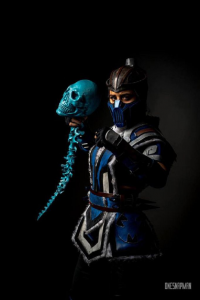 Yeliz Cosplay as Sub-Zero