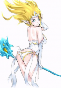 Janna from Relax 絵