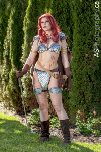 Gillykins as Red Sonja