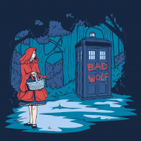 Little Red Riding Hood, TARDIS from Karen Hallion