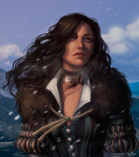 Yennefer from Anna Ivanenko
