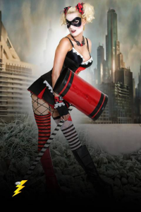 Candy Keane as Harley Quinn