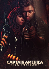 Black Widow, Winter Soldier from Tommy Sindu