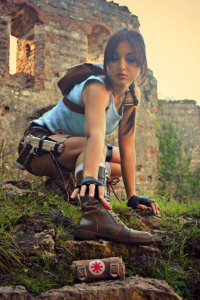 Eilaire as Lara Croft