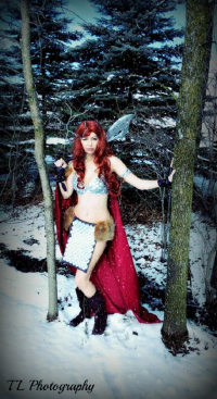 Casabella Cosplay as Red Sonja