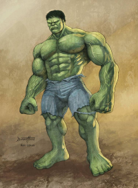 Hulk from barneybluepants