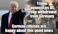 Trump announces US troop withdrawal from Germany