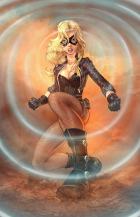 Black Canary from Chris Ehnot
