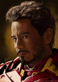 Iron Man from arcaneillusions