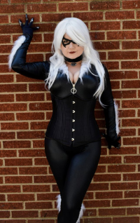Miss Kitty's Cosplay as Black Cat