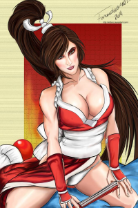 Mai Shiranui from Fernando Neves Rocha