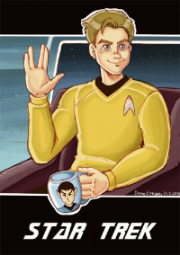 James T. Kirk from Diane E.