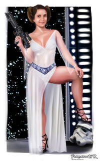 Leia Organa from Fernando Neves Rocha